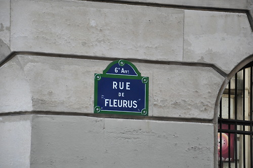 rue de fleurus