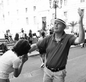 zomer 2016, incognito in Palermo mislukt