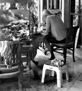 working on Bali Island, 2019